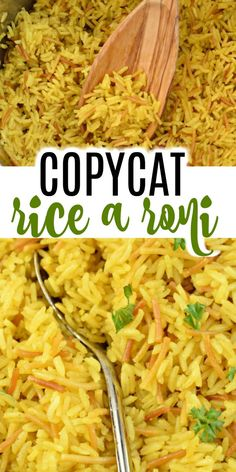 Easy Instant Pot Rice a Roni - It's here! The Copycat Rice a Roni Recipe you've been waiting for. This Instant Pot Rice tastes - Ricearoni Recipes, Side Dish Recipes, Cooking Recipes, Copycat Recipes, Delicious Recipes, Crockpot Recipes, Recipies, Yummy Food, Instant Pot Pressure Cooker
