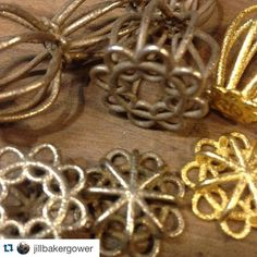These are going to be beautiful ! @jillbakergower  #Repost @jillbakergower  Earrings Earrings Earrings! #snagmember #3dprinting by snagmetalsmith