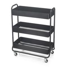 Storage Cart, Storage Shelves, Storage Spaces, Paint Supplies, Craft Supplies, Office Supplies, Office Supply Organization, Organization Ideas, Utility Cart