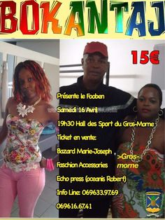 Bokantaj Vous aussi intégrez vos événements dans l'Agenda des Sorties de www.bellemartinique.com C'est GRATUIT !  #martinique #Antilles #domtom #outremer #concert #agenda #sortie #soiree