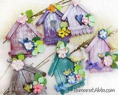 Dondurma Çubuklarından Nasıl Ev Yapılır?