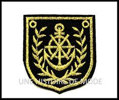Ecusson marin / patch marin - UNE HISTOIRE DE MODE