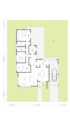 Dream House Plans, Small House Plans, House Floor Plans, Home Design Plans, Plan Design, Architecture Plan, Residential Architecture, Circle House, Villa Plan