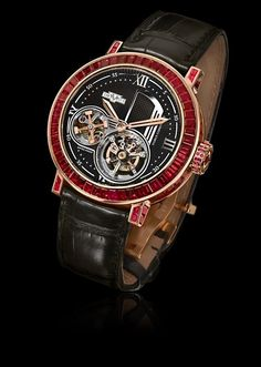 Academia Tourbillon Mecanica High Jewellery, manually wound movement, rose gold, AC.8300M.53-04.M070