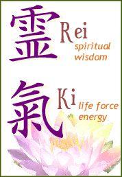 Rei - Spiritual Wisdom; Ki - Life Force Energy