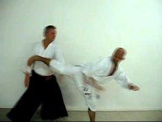 Aikido blocks against kicks - YouTube
