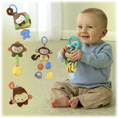 My Little Snugamonkey Newborn Gift SetBuy Gift Set & SAVE! - Fisher-Price Online Toy Store