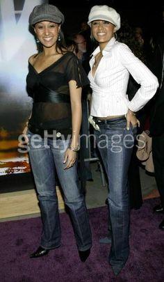 Tia and Tamera Mowry Photo: Tia and Tamera Celebrity Twins, Celebrity Style, Tia And Tamera Mowry, Wonder Twins, Beautiful People, Beautiful Women, Bombshell Beauty, Black Pride, Hip Hop Fashion
