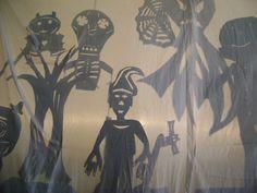 Teatro de sombra, 7ª série, 2010. prof. Fernanda Caberlon