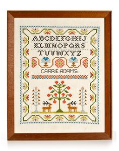 cross stitch sampler - Google Search