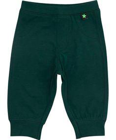 Chouette pantalon bébé en vert mode par Molo. molo.fr.emilea.be