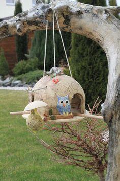 Home, das lustige Vogelheim, einzigartig von ThoLiKo auf DaWanda.com