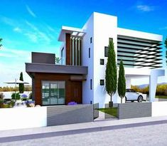 This modern luxury house for sale in Larnaca (Cyprus) is located in the village of Oroklini and it has easy access to the sandy beach. Unique Properties For Sale, Modern Properties, Luxury Property For Sale, Luxury Houses, Open Plan Living, Apartments For Sale, Modern Luxury, Cyprus, Luxury Real Estate