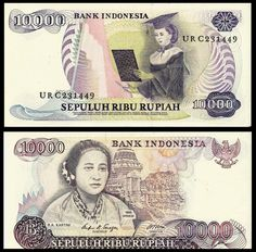 ★ BANK OF INDONESIA - 10,000 RUPIAH ★