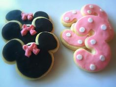 Minnie mouse cookies | birthday