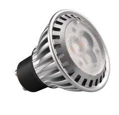 Kosnic 4.5 Watt Dimmable GU10 GU10 LED, 4.5 Watt, 45 Watt Halogen Replacement, 45° Beam Angle, 220-240 Lumens, 3 Year Guarantee