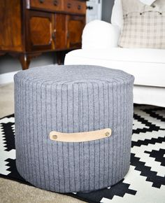 DIY Floor Pouf Sewin