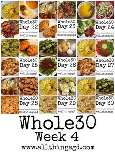 en månads diet