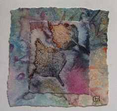 Polykromos: Monoprinting With Watercolor interesting technique
