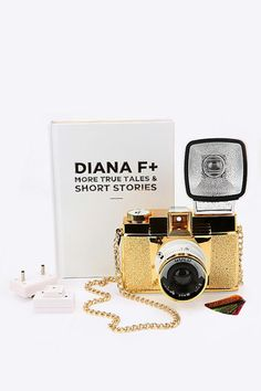Lomography Diana F+ Gold Camera at Urban Outfitters