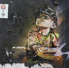 Street Art by Alice Pasquini in London