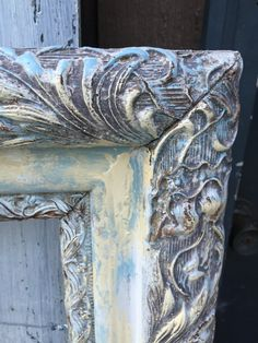 Shabby but Chic Large Frame French Castle Beach by Pincapallina