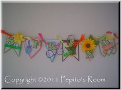 "Welcome Spring Banner   	A fresh start for spring! Created using the ""Festive Banner"" template from Pepito's Room.    Thanks for looking,    http://pepitosroom.com    Read more: http://www.splitcoaststampers.com/gallery/photo/1933850#ixzz2Nr1BPZ5b"