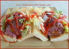 Bacon Cheddar Beef Rolls | www.BakingInATornado.com
