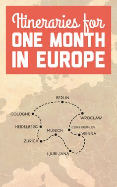 Itineraries for an epic month in Central Europe / A Globe Well Travelled Top Europe Destinations, Surfing Destinations, Road Trip Europe, Europe Travel Tips, Travel Plan, Travel Guide, Travel Articles, Berlin, Europe On A Budget