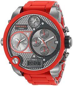 Diesel Herren-Armbanduhr XL Analog - Digital Quarz Plastik DZ7279 - http://uhr.haus/diesel/diesel-herren-armbanduhr-xl-analog-digital-quarz