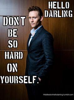 Tom Hiddleston: Hello Darling...