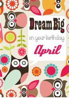 Dream Big on your Birthday with Designer Owls and Birds It's Your Birthday, Dream Big, Owls, Card Making, Birds, Messages, Retro, How To Make, Design