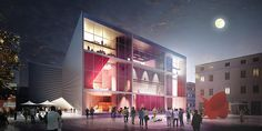 Gallery of BIG Unveils Bow-Shaped Design for National Theatre of Albania - 2