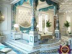 Bedroom Design in Dubai, luxury Royal Master bedroom design, Photo 5