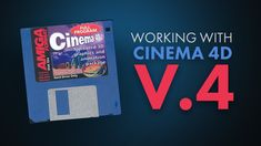 Working With Cinema 4D V4 from 1998!!