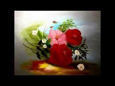 Pintar flores al oleo