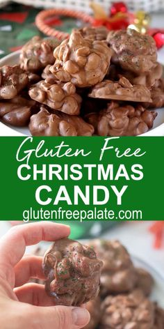 Healthy Low Carb Recipes, Healthy Crockpot Recipes, Healthy Breakfast Recipes, Christmas Food Gifts, Christmas Candy, Christmas Gluten Free Desserts, Healthy Christmas Treats, Xmas Desserts, Gluten Free Foods