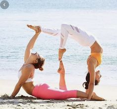 One of the best ways to have relief from lower back pain is through Hatha Yoga exercises. Yoga poses can help the symptoms and root causes of back pain. Couples Yoga Poses, Acro Yoga Poses, Partner Yoga Poses, Dance Poses, Two Person Yoga Poses, Couple Yoga, Yoga Girls, Ladies Yoga, Iyengar Yoga