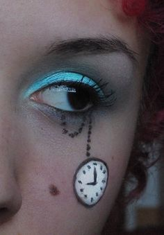 Alice in Wonderland Make Up I by ~Faye-Raven on deviantART -- idk why I pinned this in here . I just think it looks cooool