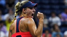 "9/8/16 Angie Into First US Open Final!  New World #1 as of Monday, Angelique Kerber, beats fmr World #1 Caroline Wozniacki 6-4, 6-3 to advance to her 3rd Slam Final this year! ""It was not so easy to go then on court, because I knew it actually before that if Serena lost, of course, that I will be the No. 1."" .... ""So it was not so easy mentally, but I was trying to not put too much pressure on myself."" #USOpen"