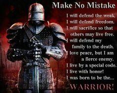 The Warrior!