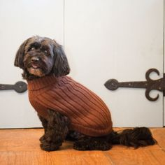 Fashion Pet Brown Turtleneck Dog Sweater Small -- Details can be found by clicking on the image.