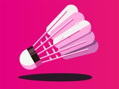 Badminton designed by JoeLiu. the global community for designers and creative professionals. Badminton Logo, Badminton Sport, Olympic Games Sports, Olympic Gymnastics, Wrestling Shoes, Jordyn Wieber, Shawn Johnson, Rugby League, Sports