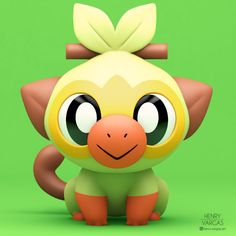 Tagged with pokemon, fanart, pokemon fan art, grookey, pokemonswordshield; Pokemon Toy, Pokemon Fan Art, Pokemon Gifts, Pikachu, Grass Type Pokemon, Pokemon Universe, Cute Pokemon Wallpaper, Spyro The Dragon, Modelos 3d