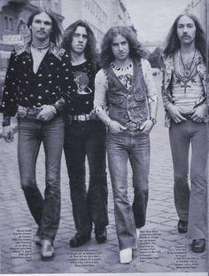 Klaus Meine. Rudolf Schenker. Uli John Roth. Scorpions.