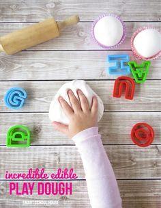 DIY Edible Sweet Play Dough