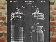 Cocktail Shaker 1934 Patent - www.eklectica.in #eklectica