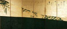 Tawaraya Sotatsu screen (Left) @ Shokokuji Jotenkaku Museum, Kyoto