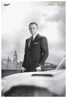 """Classy IMAX poster of """"Skyfall"""""""