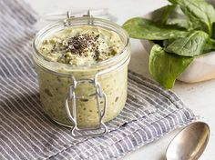 grüne overnight oats mit spinat green monster vegan overnight oats ...